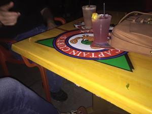 The Captain Cooler and the Siesta Lemonade we had at the Sniki Tiki in Siesta