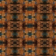 Mirrored image print created in Photoshop, spring 2014