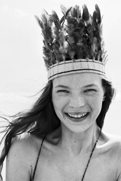 Kate Moss for The Face